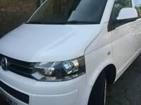 VW transporter minibus
