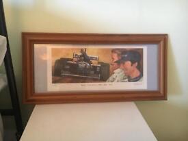 Damon and Graham Hill print