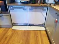 Swan integrated fridge and freezer