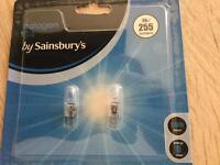 Sainsbury's G4 halogen bulbs