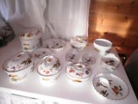 Royal Worcester Porcelain items