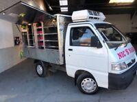 Catering van daihatsu hijet jiffy truck