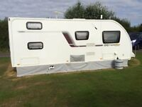 FOR SALE SWIFT EXPRESSION CHALLENGER 585, 6 Berth,(2013) Used Excellent condition Touring Caravan.