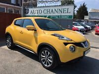 Nissan Juke 1.6 Tekna XTRONIC CVT 5dr£11,995 p/x welcome FINANCE AVAILABLE!