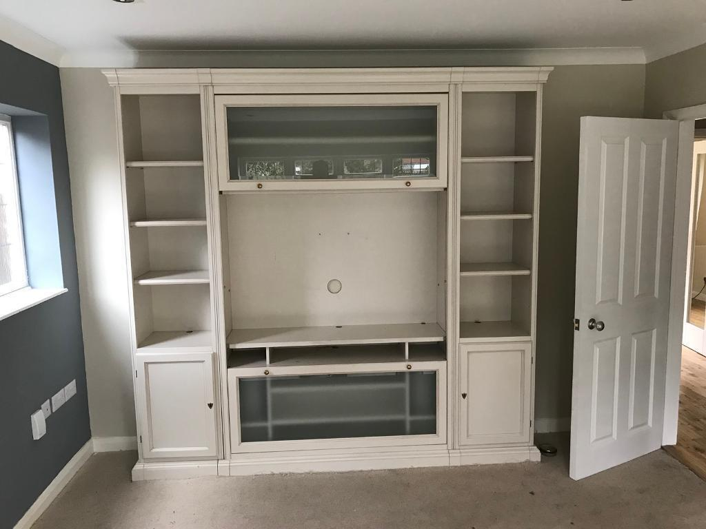 Selva TV and storage wall unit | in Claygate, Surrey | Gumtree