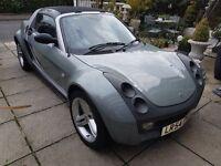 Smart Roadster 80 RHD Turbo 2004 low mileage