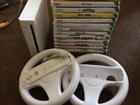 Wii console plus games bundle