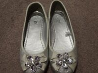 Girls party shoes and summer sandals - size 3