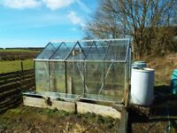 Double Aluminium Greenhouse