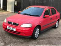 VAUXHALL ASTRA CLUB 8V 5 DOOR HATCHBACK NO. OF FORMER KEEPERS 1 -1.6 PETROL 12 months MOT