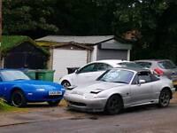 Mazda mx5 import eunos track car