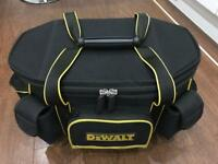 Large Dewalt Tool Bag As New Condition RRP £80