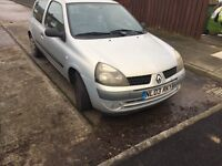 Renault Clio 3 door only 89k 2 owners from new