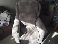 Rise & recline massage chair