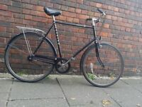 Raleigh Chiltern 64 cm frame (Large) 3 speeds Sturmey Archer. Free lock and lights. Ready to ride.