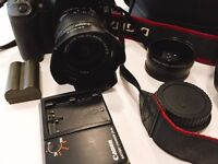 Canon EOS 30D - Great Bundle Kit - 2 lenses 2 batteries - mint condition