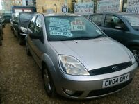 2004 Ford fiesta diesel only £30 a year road tax 4 door hatch back