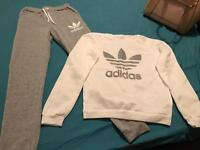 Addidas tracksuit women's small