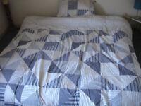 "Mattress Super King Size 6'0"" x 6'6"" / 180 x 200 cm c/w quilt & cover, sheets & mattress protector"