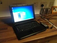 LOOK Cheap Basic Laptop with charger in Full working order
