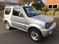 Suzuki Jimny Mode 1.3 - Striking Silver - MOT Aug 2018 - Great Condition - Well Maintained - 4x4