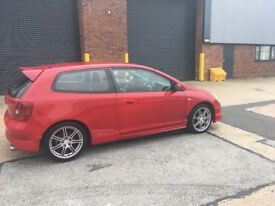 TIDY EXAMPLE HONDA CIVIC TYPE R EP3 K20 VTEC DOHC. vti,turbo,dc2,ek,eg,s2000