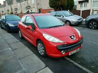 57 plate Peugeot 207 m-play