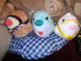 Hatoful Boyfriend official plushies