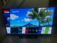 LG OLED 55 inch 4K UHD Smart WebOS TV, with Magic remote