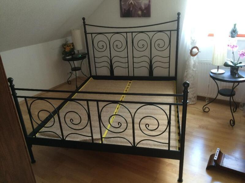 metallbett 160x200 in niedersachsen fa berg bett. Black Bedroom Furniture Sets. Home Design Ideas