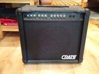 Guitar Amp - CRATE GX-65 - 65W 3 channels guitar amp