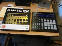 Native Instruments Maschine 2 with software license and gold front