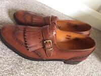 Scottish Hand made leather shoes would be ideal for kilt or dress shoes
