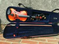 3/4 size violin in excellent condition