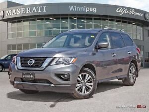 2017 Nissan Pathfinder SV: With Heated Seats and Steering Wheel!