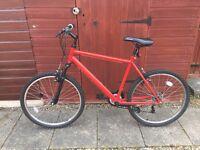 """Apollo Mountain Bike (20"""") & Stand"""