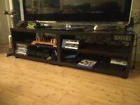 Black TV Cupboard like new