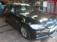 BMW 320D 2005 E90 ALLOYS M SPORT LEATHER AND BUMPER IN BLACK