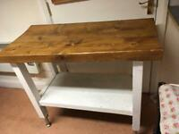 Kitchen island or unit solid wood
