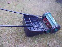 Qualcast push-me pull-me lawnmower