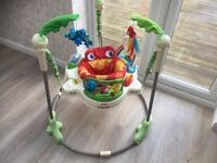 Fisher Price Rainforest Jumperoo £5