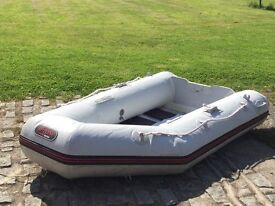 Inflatable Boat with or without engine for sale