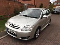 Toyota Corolla 2.0 d4d Diesel 54 reg 2004 only 1 previous owner