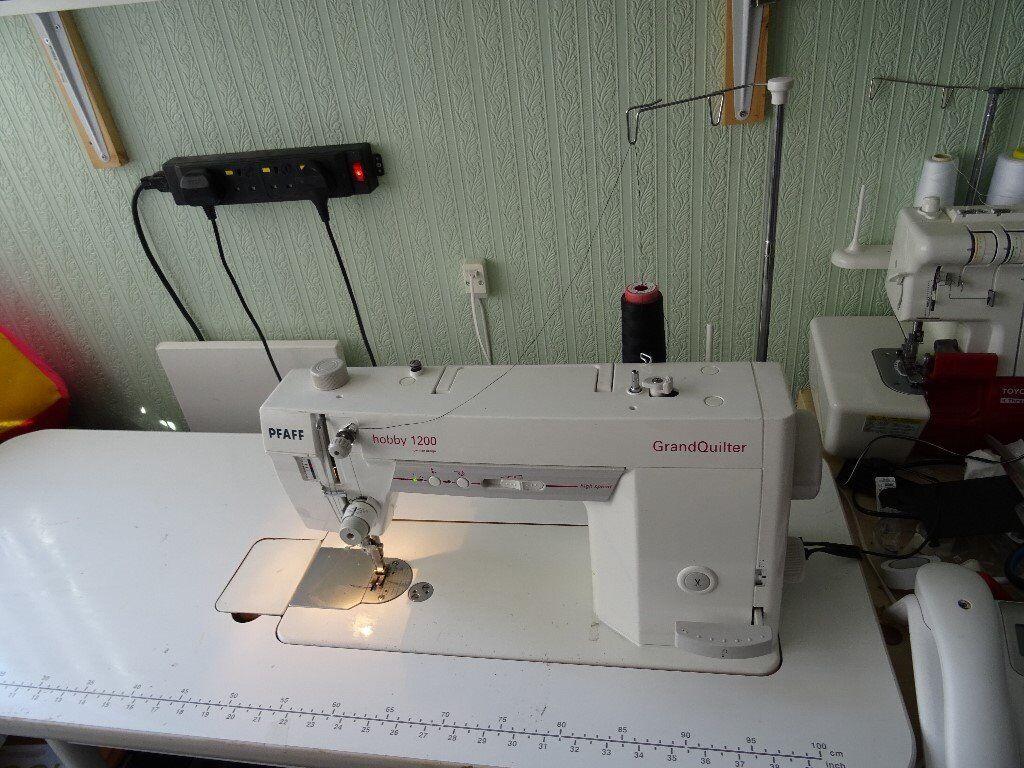 Pfaff Hobby 1200 Grand Quilter Machine In Chelmsley Wood