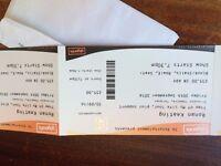 RONAN KEATING TORQUAY Friday 30th September Princess Theatre Pair Tickets