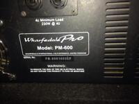 WHARFDALE 600watt MIXER AMP