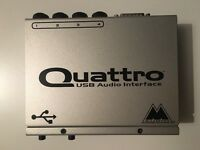 M Audio Quattro USB Midi Interface