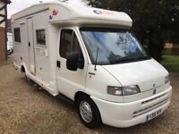 CI Cipro 2 Motorhome - 2 Berth - 2001 Fiat Ducato 2.8TD - Part Exchange Welcome