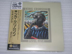 KING-CRIMSON-level-five-JAPAN-mini-lp-CD-HDCD-SEALED-LAST-COPIES-IN-STOCK