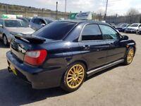 Subaru Impreza 2.0 Turbo WRX 4dr++Warranty++12 Months Mot++£2,890 2002 (02 reg), Saloon